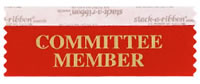 Committee Member Ribbons